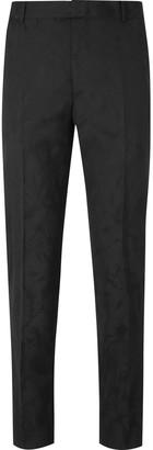 Alexander McQueen Slim-Fit Wool-Jacquard Suit Trousers