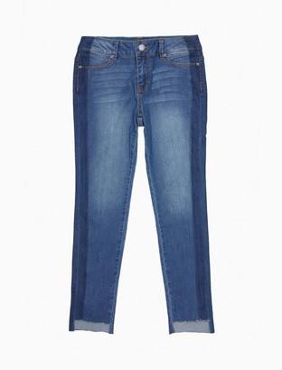 Calvin Klein Girls Side Stripe Skinny Jeans