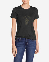 Eddie Bauer Women's Graphic T-Shirt - Take A Hike