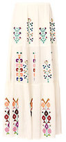 Melissa Odabash Pixi Embroidered Maxi Skirt