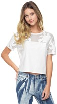 Juicy Couture Praia Floral Applique Tee
