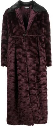 Undercover Oversized Faux Fur Coat