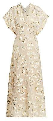 Rachel Comey Women's Floral Pint Maxi Dress