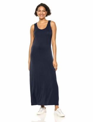 Amazon Essentials Women's Patterned Tank Maxi Dress