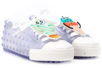 Mini Melissa Clear Design Sneakers