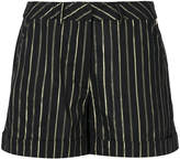 Twin-Set striped short shorts