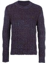 Maison Margiela speckled chunky knit jumper