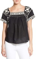 Madewell Women's Wildfield Embroidered Top