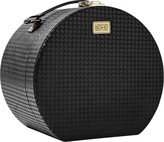 S.O.H.O New York Houndstooth Round Train Case