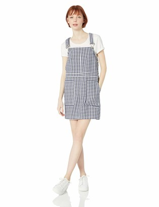 Volcom Junior's Women's Georgia May Jagger Frochickie Overall Dress