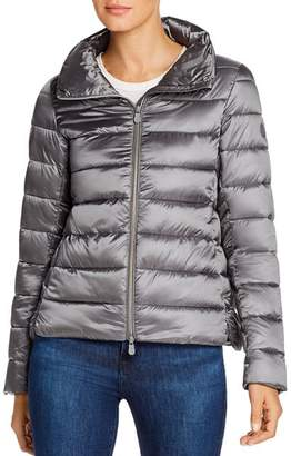 Save The Duck Funnel Neck Short Coat