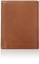 Barneys New York MEN'S VERTICAL BILLFOLD-DARK BROWN