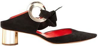 Proenza Schouler Black Suede Heels