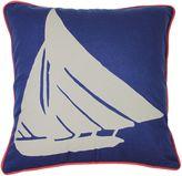 Kas Seneca 18-Inch Blue Fish Throw Pillow in Blue