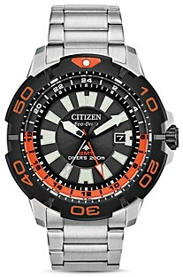 Citizen Eco-Drive Promaster Gmt Diver Watch, 44mm