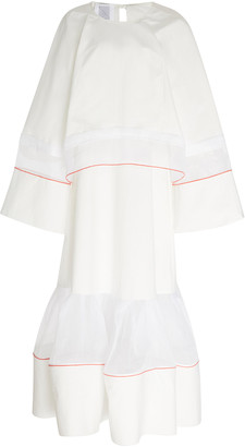 Rosie Assoulin Double-Layered Cotton Dress