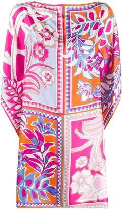 Emilio Pucci Floral-Print Dress