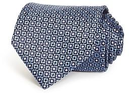 Ermenegildo Zegna Neat Medallion Silk Classic Tie