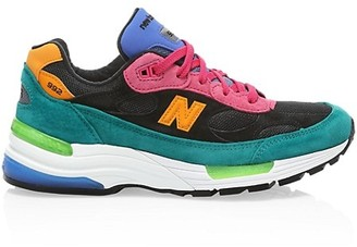 New Balance Men's 992 Made In US Colorblock Sneakers