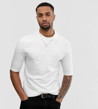 Asos Design DESIGN Tall organic smart slim fit t-shirt in white
