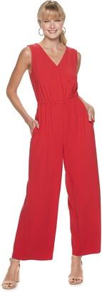 Apt. 9 Women's Sleeveless Wrap Jumpsuit