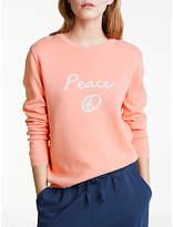 People Tree Peace Jumper, Pink