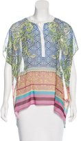 Clover Canyon Printed Short Sleeve Top