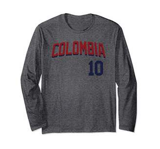 Colombia or Colombian Design for Football or Soccer Fans Long Sleeve T-Shirt
