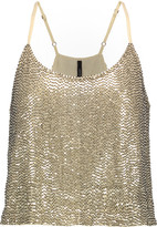 W118 by Walter Baker Amber embellished georgette top