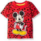 Freeze Red Mickey Mouse Tee - Toddler & Boys