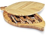 Picnic Time 'Leaf' Cutting Board & Cheese Tools