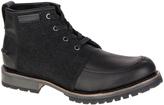 CAT Footwear Black Russell Wool & Leather Boot - Men