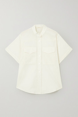 MATIN Cotton-voile Shirt - White