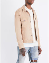 424 Star-print denim jacket