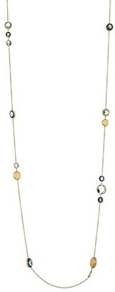 Marco Bicego Jaipur 18K Yellow Gold & Topaz Long Station Necklace