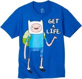 Bioworld Adventure Time Boys 8-20 Get A Life Tee