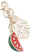 See by Chloe Crystal Watermelon & Palm Key Ring, Multi