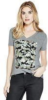 GUESS Women's Tonya Heather Tee