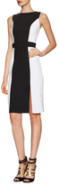 Susana Monaco Marna Split Contrast Sleeveless Dress