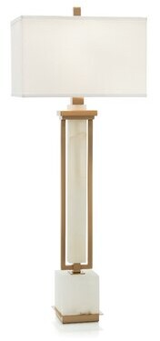 "John-Richard Collection 42"" Alabaster Buffet Lamp"