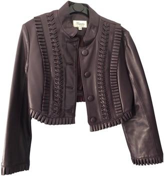 Temperley London Purple Leather Jackets