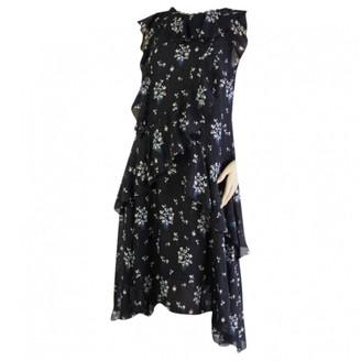 Erdem X H&M X H&m \N Blue Silk Dresses