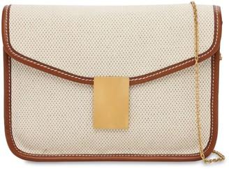 Il Bisonte Luisa Simmetria Canvas Shoulder Bag