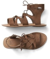 Gap Lace-up strap sandals
