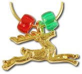 StockPins Reindeer Wine Charm Single