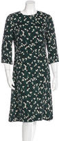 Marni Three-Quarter Sleeve Midi Dress w/ Tags