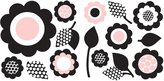 Wall Pops GiGi Floral Wall Art Kit
