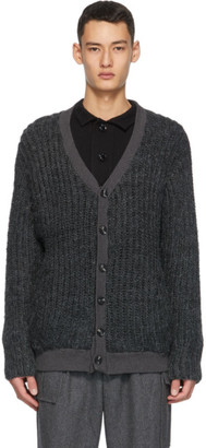 Winnie New York Grey Wool Cardigan