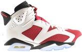 Jordan Air Retro 6 Men's Shoes White/Carmine-Black 384664-160 (11.5 D(M) US)