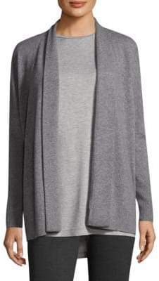 Lafayette 148 New York Relaxed Open Cashmere Cardigan
